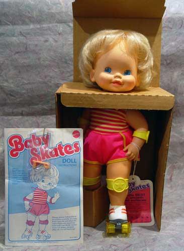 Baby Skates Doll