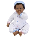 Angel Love  NewBorn Nursery Black Baby Doll