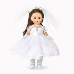 Madame Alexander First Communion Blessings (Brunette)