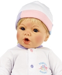 Newborn Nursery Little Sweetheart Baby Blonde/Blue Eyes