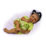 Ashton Drake Galleries Alexis African American Baby Girl Doll