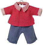 Denim Pants Set for 14 inch Baby Doll