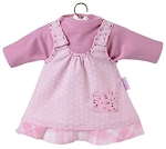 Charming Pink Dress Set for 14 inch Baby Doll
