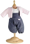 Denim Set for 17 inch baby doll
