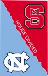 House Divided NCSU/UNC Garden Flag