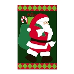 Jolly Old Elf Garden Flag