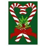 Christmas Sweetheart Garden Flag