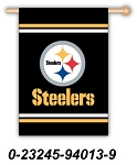 Pittsburg Steelers House Flag