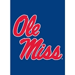 Ole Miss Garden Flag