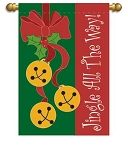 Jingle All The Way Garden Flag