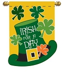 Irish For A Day Garden Flag