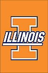University of Illinois Garden Flag