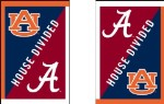 House Divided Auburn/Alabama House Flag