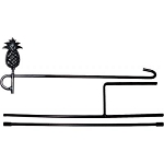 Garden Stand 3 Piece Pineapple Finial