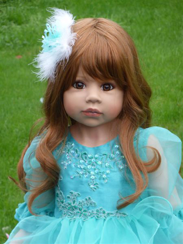 Masterpiece Dolls Jasmine Strawberry Blonde