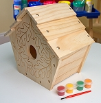 Build Your Own Wooden Bird House