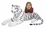 White Giant Tiger Plush