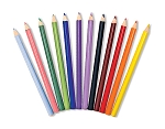 Jumbo Triangular Colored Pencil Set