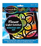 Scratch Art Flower Light Catcher Kit
