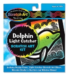 Scratch Art Flower Dolphin Catcher Kit