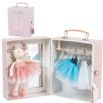 Moulin Roty Ballerina Mouse Trunk Set