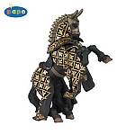 HORSE OF KNIGHT BULL BLACK