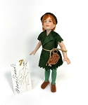 Robert Tonner Peter Pan Doll Porcelain 8