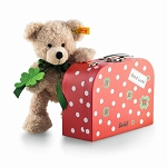 Fynn Teddy Bear in Suitcase
