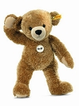 Happy Teddy bear, light brown 11inches