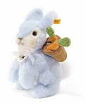 Rabbit Light Blue Plush
