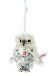 Owl Steiff Ornament