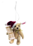 Naughty or Nice Steiff Ornament