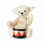 Steiff Lukas Bear With Drum EAN 034060
