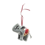 Steiff Christmas Elephant Ornament 4