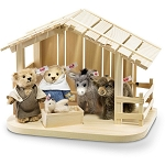 Steiff Nativity Scene