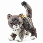 Steiff Kitty Cat Grey