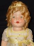 Shirley Temple Look-alike Doll