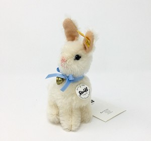 Steiff Williams Sonoma White Easter Bunny 6""
