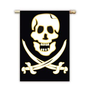 Jolly Roger Garden Flag