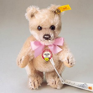 Mini Jackie Teddy Bear Honey