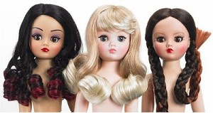 THREE'S A CHARM CISSY WIG PACK