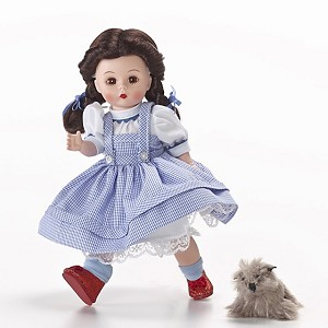 Dorothy with Toto Wizard of Oz