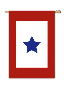 Military Star House Flag