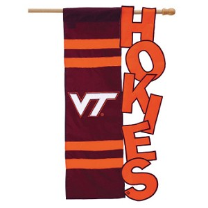 VA Tech Sculpted House Flag