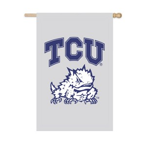 Texas Christian University Garden Flag