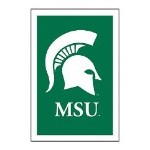 Michigan State University House Flag