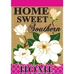 Home Sweet Southern Home House Flag