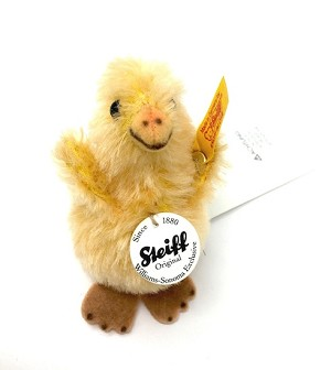Steiff Williams Sonoma 2014 Easter Chick EAN 682780- 3 inch (10cm)