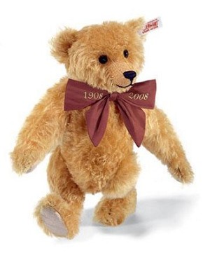 Steiff Mohair Paul the Growler Bear, golden brown