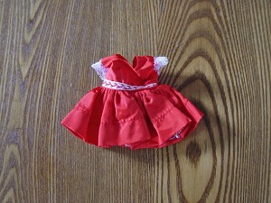 Vintage Story Book Doll Dress